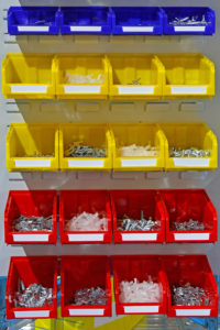 Picking and Kitting Bin Part Organizer